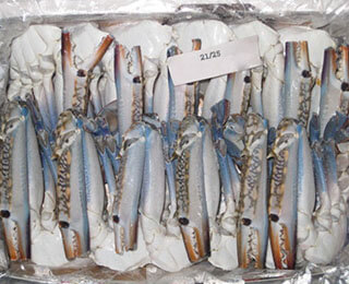 Cut Crab-packing
